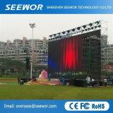 Alto schermo di visualizzazione esterno del LED dell'affitto di contrasto P6.66mm con installazione veloce e facile