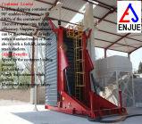 Hydraulischer teleskopischer Behälter-Entlader-Kipper für das Aus dem Programm nehmen der Kohle-Korn-Ladung