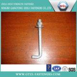 Bout de van uitstekende kwaliteit van L, l-Bout/de Bout van het Anker van het Type van L m3-M64