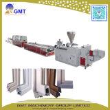 Plastikrohr-Profil-Blatt-konischer einzelner Schrauben-Maschinen-Doppelextruder