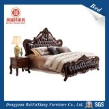 Cama de cuero para el dormitorio (B318)