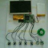 Bildschirm-Video-Baugruppe der Gruß-Karten-4.3inch LCD
