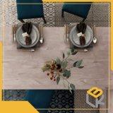 Grain du bois de noyer la conception de l'impression papier décoratif pour l'étage, de porte