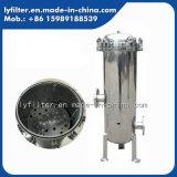液体フィルターのための速いフランジが付いている磨くステンレス鋼のカートリッジフィルターハウジング