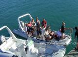 Liya 22 Fuß aufblasbares Rippen-Boots-Militärboots-für Verkauf