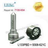 Клапан 9308 621c инжектора коллектора системы впрыска топлива комплекта для ремонта 7135-654 Erikc большой (7135 654) и первоначально инструментальный ящик ремонта автомобиля сопла L133pbd карандаша для 7135654 и Ejbr00501z