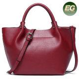 Nuovo cuoio genuino classico Emg5224 dei sacchetti di Tote della ragazza di acquisto della signora Handbag dei sacchetti di spalla della donna di Arrivel