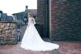 ドバイのイスラム教の長い袖の花嫁衣装