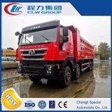 Autocarro con cassone ribaltabile resistente della roccia 8X4 di estrazione mineraria dell'Iveco 430 H/P