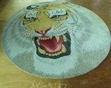 Ручной работы ковер шерстей картины тигра