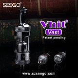 Seego 최고 Clearomizer Vhit 광대한 현대 디자인 왁스 기화기