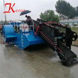 Keda Dernière technologie de mauvaises herbes aquatiques pour l'exportation de la récolteuse
