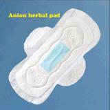 De vrouwelijke Maandverbanden van de Handdoeken van Katoenen In te ademen Sanitayr van het Anion, Sanitaire Stootkussens voor Vrouwen
