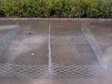 Acoplamiento hexagonal galvanizado del rectángulo de Gabion de la INMERSIÓN caliente