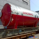 2500x5000mm Norma Ce Vulcanizer borracha industrial com alto desempenho