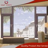 Vidrio termal de capa Windows del marco de la rotura de la aleación de aluminio de la potencia