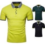 T-shirt occasionnel de polo de sport de T-shirts de classiques du coton des hommes neufs