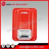 ricevitore acustico convenzionale dello stroboscopio del segnalatore d'incendio di incendio 24V