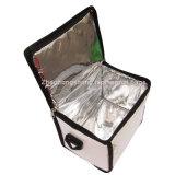 가장 새로운 폴리에스테 휴대용 알루미늄 호일 음식 납품 냉각기 운반물 상자 상자 부대