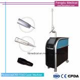 Q schalten Picosure Nd YAG Laser-Tätowierung-Abbau-Laser-Haut-Verjüngung