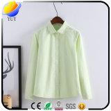 Wäsche-Oxford-Blusen-Dame-Hemd mit beiläufigem Hemd
