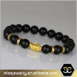 남자를 위한 종교적인 Buddha 구슬 팔찌, 마노 구슬 팔찌 Mjbe012