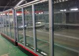 Замораживатель охладителя двери Mulitdeck стеклянный для индикации замороженных продуктов супермаркета