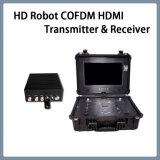 Beweglicher HD RoboterCofdm HDMI drahtloser videoübermittler und Empfänger