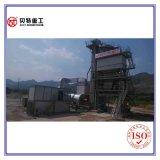 1000kg de Drogende Trommel van de Capaciteit van de mixer 80 T/H Het Mengen zich van het Asfalt van de Milieubescherming Machine met Lage Emissie