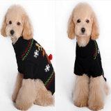 [إك-فريندلي] محبوب لباس قطر يد [نيت] كلب كنزة مع جلد مخربات