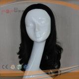 사람의 모발 매끄러운 똑바른 여자 가발 (PPG-l-01098)
