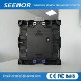 Taux de rafraîchissement élevé P4mm mur vidéo LED Intérieur transparente