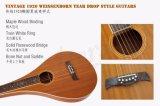Prix de gros marque Aiersi Teardrop Diapositive guitare hawaïenne