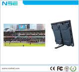 Visualización de pantalla al aire libre del perímetro LED del estadio de fútbol de P16 Digitaces