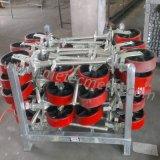 PU 바퀴 알루미늄 센터를 가진 회전대 피마자