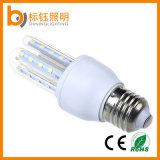 Garantía de 3 años LED Lámpara de ahorro de energía AC85-265V la bombilla E27 5W de luz de maíz