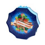 Cajas de Navidad de estaño de metal personalizados con Logo
