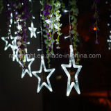 Blue Color Christmas LED Star Lights Christmas Holiday Festival Decoration