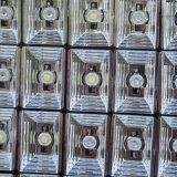 단계 결혼식 KTV 바를 위한 48*3W RGBW LED 바닥 배치 도시 색깔 벽 세척 빛