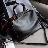 Sacos de ombro macio da menina do saco de senhora de sacos compra da mulher do couro genuíno da fábrica Emg5236 de China