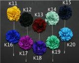 Chevilles de fleur de tissu de décoration pour le procès Clouth