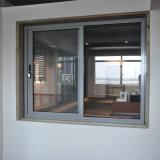 Double guichet de glissement en aluminium en verre de qualité avec le gril