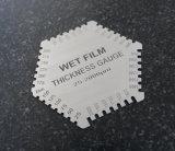 Mesure d'épaisseur humide de film (hexagonale) pour la peinture