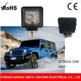 Car Spot Flood LED Work Light for Truck Driving Light (GT2010-15W)