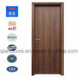 Ignifugé porte d'entrée de porte en bois massif Hot