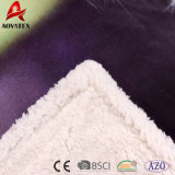 Высокое качество напечатало Ply Micromink Blanket двойной, Sherpa связало одеяло