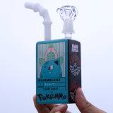 Getränk-Flasche mit Bambusdüsen-Glas-rauchendem Wasser-Rohr-heißem Großverkauf