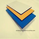 Placa de alumínio de revestimento de materiais nano 3mm Painel Composto de alumínio