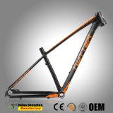 MTB de aluminio duradero 29er eje barril Bastidor de la bicicleta de montaña