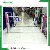 Cancello del carrello di acquisto del cancello girevole dell'entrata del supermercato